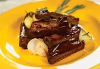 Рецепт Свиные ребрышки в чайном маринаде
