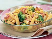 Рецепт Пенне с брокколи под соусом из порея