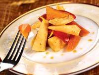 Рецепт Овощи в горчичном соусе