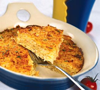 Рецепт Запеканка из квашеной капусты с картофелем