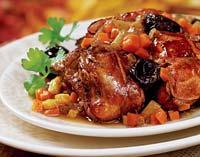 Рецепт Заяц с черносливом