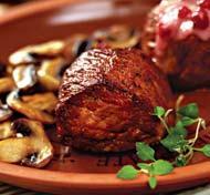Рецепт Косуля по-охотничьи с брусничным соусом