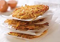 Рецепт Картофельные оладьи с пастернаком
