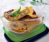 Рецепт Пирог с козьим сыром и картофелем