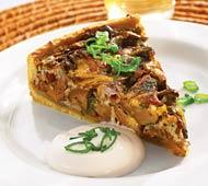 Рецепт Мясной пирог с лесными грибами