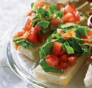 Рецепт Брускетта со шпинатом