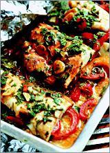 Рецепт Рыба по-мароккански