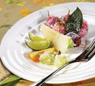 Рецепт Засахаренные фрукты
