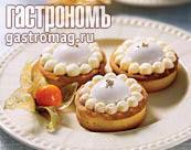 Рецепт Корзиночки с винным муссом