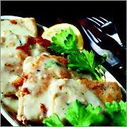 Рецепт Рыба с белым соусом