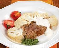 Рецепт Цветная капуста, фаршированная мясом