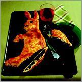 Рецепт Пирог из слоеного теста со шпинатом