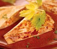 Рецепт Кесадильяс с курицей и яблоками