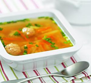 Тосканский суп с фрикадельками