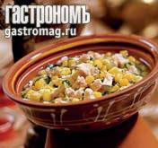 Рецепт Сладкий куриный суп