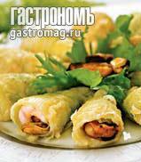 Рецепт Кулечки из лука-порея