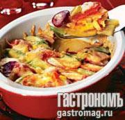 Рецепт Запеканка овощная с сыром