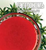 Рецепт Соус из клубники с красным вином