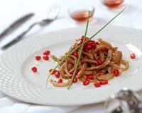 Рецепт Рубец с зернами граната