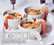 Рецепт Жюльен из креветок с белым вином
