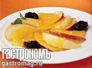 Рецепт Аспик из грейпфрута и апельсина