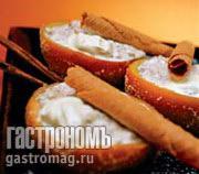 Рецепт Засахаренные апельсины с йогуртом и медом