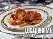 Рецепт Утиное филе с карамелизированными овощами
