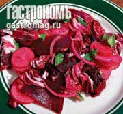 Рецепт Розовый салат