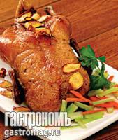 Рецепт Утка с шалфеем и имбирем