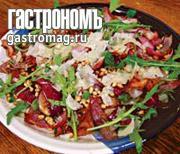 Рецепт Теплый салат с луком