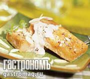 Рецепт Морской черт с миндалем