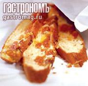 Рецепт Яичный пирог с курагой