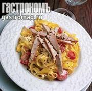 Рецепт Тальятелле с куриным филе и рикоттой