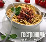 Рецепт Спагетти с анчоусами и тунцом