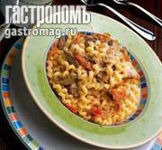 Рецепт Торчильоне с кроликом и салями