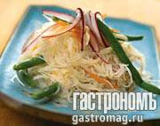 Рецепт Салат из рисовой лапши