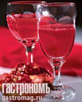 Рецепт Напиток с клюквой и гранатом