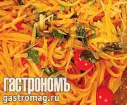 Рецепт Макароны с помидорами, базиликом и пармезаном