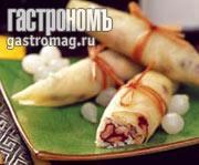 Рецепт Капустные рулетики тюнь