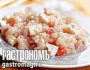 Рецепт Ризотто с томатами и брынзой