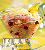 Рецепт Салат из квашеной капусты с сельдереем