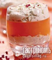 Рецепт Желе из грейпфрута с сыром и розовым перцем