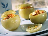 Рецепт Соленые помидоры, фаршированные куриным филе
