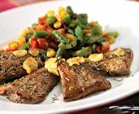 Рецепт Баранина с рататуем из зимних овощей