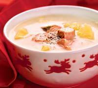 Рецепт Финский рыбный суп