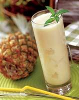 Рецепт Коктейль из ананаса и кокоса