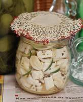 Рецепт Маринованная брынза
