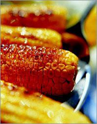 Рецепт Кукуруза с чесночным маслом