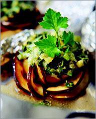 Рецепт Баклажаны с зеленью