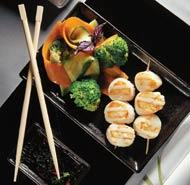 Рецепт Гребешки с овощами